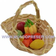 Basket with fruits 5.5 cm  - 2
