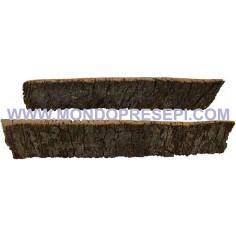 Mondo Presepi Set 2 croste di sughero cm 27X4,5