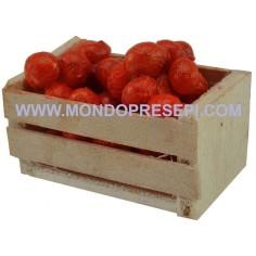 Mondo Presepi Cassetta con arance 4x2,5x2 h.