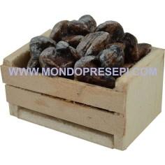Mondo Presepi Cassetta con funghi 4x2,5x2 h.