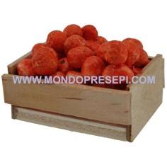 Mondo Presepi Cassetta con arance 4x3x2,5 h.