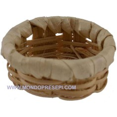 Basket with bottom ø 4 cm  - 1