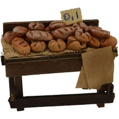 Counter with bread cm 8x4,5x5 h.