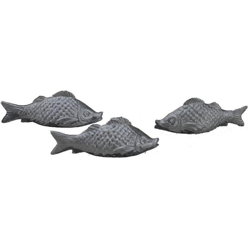 Mondo Presepi Set 3 pesci lux in pvc