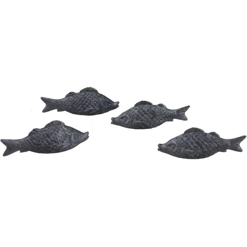 4 pvc fish set