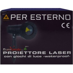 External native laser projector