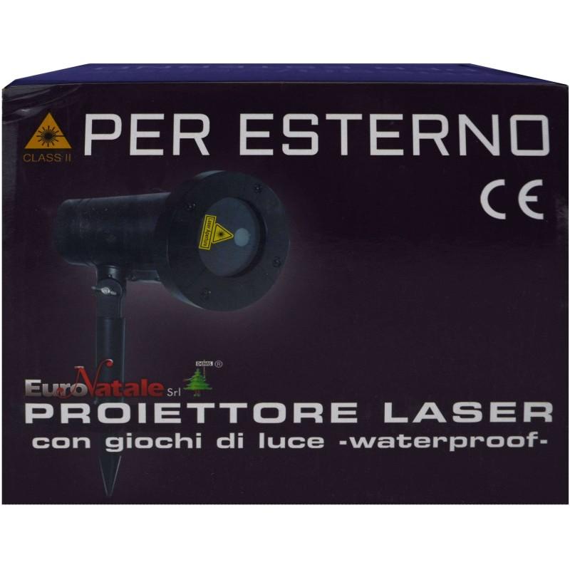 Mondo Presepi Proiettore Laser natale esterno