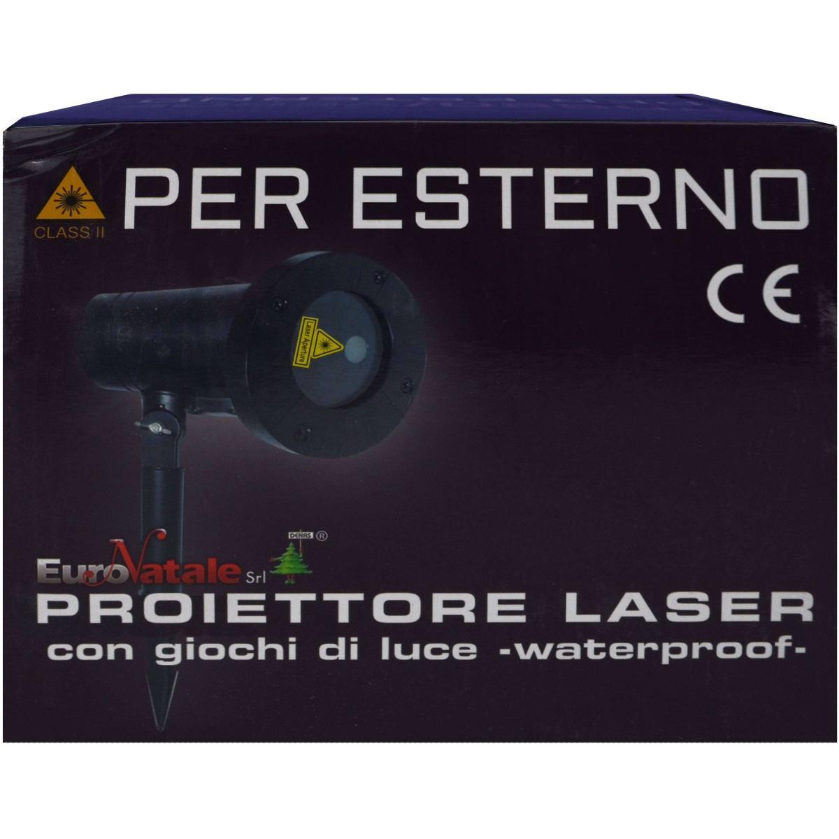 Proiettore Luci Laser Natalizie.Buy Proiettore Laser Natale Esterno