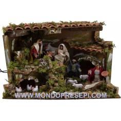 Nativity-in-motion crib