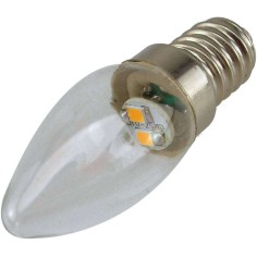 Lampada a led 2W luce calda E14  - 1