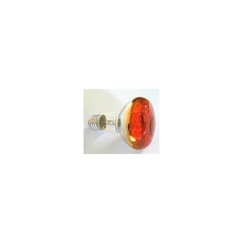 Orange spot lamp E27-60W Cod. IL04