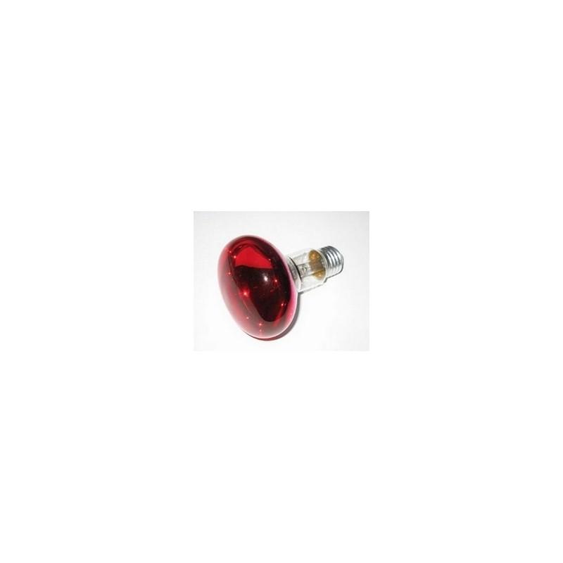 Lampada spot rossa E27-60W Cod. IL03