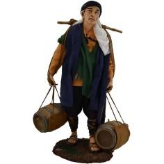 Man with 30 cm barrels