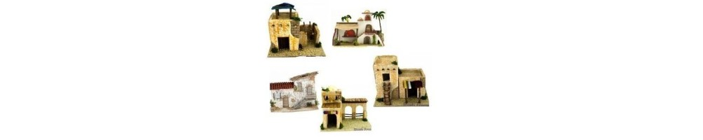 casette e castelli presepe