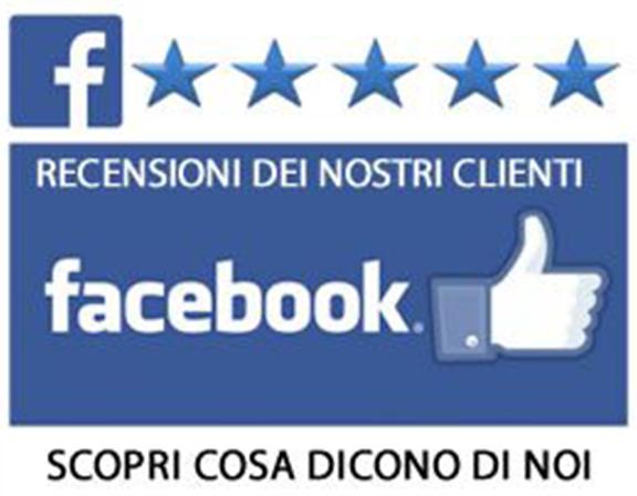 Recensioni dei clienti su Facebook